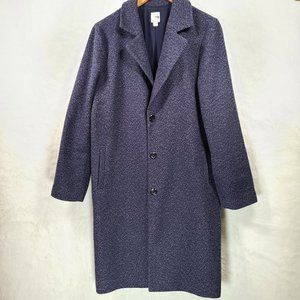 J. Jill Wool Blend Pea Coat
